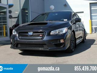 Used 2017 Subaru WRX STI STi AWD 305 HP 2 SETS OF TIRES LIKE NEW for sale in Edmonton, AB