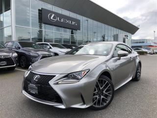 Used 2016 Lexus RC F SPORT SERIES 1 PACKAGE SUMMER SPECIAL AWD 6A for sale in Surrey, BC
