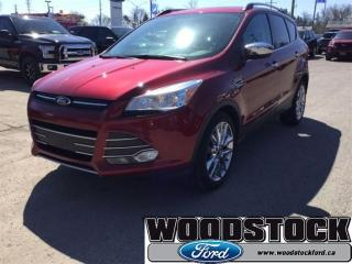 Used 2014 Ford Escape SE Chrome Package - Navigation - Local Trade IN for sale in Woodstock, ON