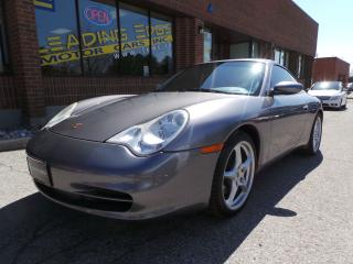 Used 2003 Porsche 911 Carrera 6 Speed Manual, Crested Seats for sale in Woodbridge, ON