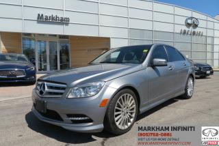 Used 2011 Mercedes-Benz C-Class 250 4MATIC, Low Mileage,Sunroof, Leather for sale in Unionville, ON