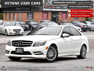 Used 2011 Mercedes-Benz C-Class for sale in Scarborough, ON