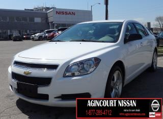 Used 2012 Chevrolet Malibu LS |AS-IS SUPERSAVER| for sale in Scarborough, ON