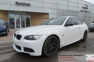 Used 2009 BMW 335i Rare Combination, White/Red, for sale in Unionville, ON