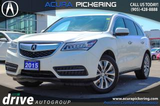 Used 2015 Acura MDX Elite Package for sale in Pickering, ON
