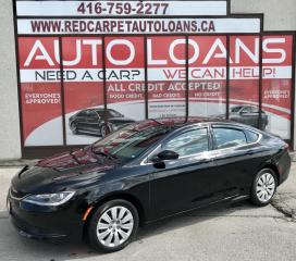 Used 2016 Chrysler 200 LX-ALL CREDIT ACCEPTED for sale in Scarborough, ON