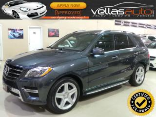 Used 2015 Mercedes-Benz ML-Class ML350| SPORT & PREMIUM PKG| NAVI| AMG STYLING PKG| for sale in Vaughan, ON