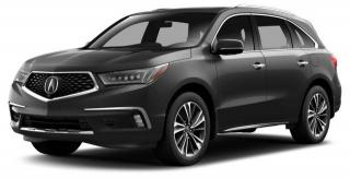 New 2018 Acura MDX Elite Package Elite for sale in Pickering, ON