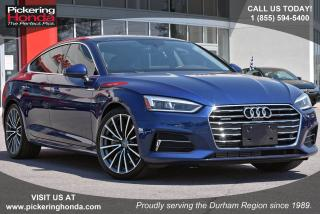 Used 2018 Audi A5 2.0T Technik Clean CarProof|Navigation|Leather Upholstery for sale in Pickering, ON