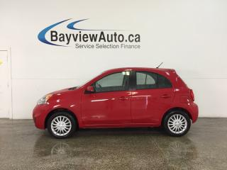 Used 2016 Nissan Micra - 1.6L! AUTO! A/C! BLUETOOTH! GAS BUDDY! for sale in Belleville, ON