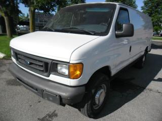 Used 2006 Ford E250 ***Clean NO ACCIDENTS, Certified+FREE 6M WARRANTY* for sale in Ajax, ON