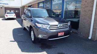 Used 2012 Toyota Highlander ALLOY/BACKUP CAMERA/7 SEATER/IMMACULATE$16500 for sale in Brampton, ON
