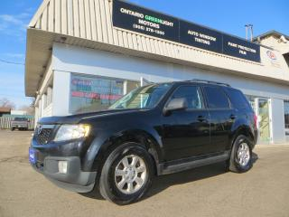 Used 2010 Mazda Tribute GT Limited,6cyl,AWD,LEATHER,Sunroof,Back up Camera for sale in Mississauga, ON