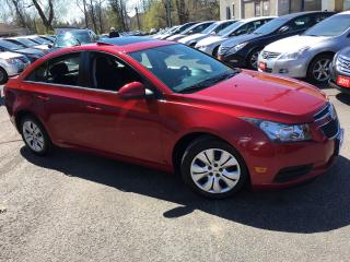 Used 2013 Chevrolet Cruze LT Turbo/AUTO/POWER ROOF/BACKUP CAMERA + MORE for sale in Scarborough, ON