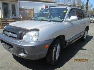 Used 2006 Hyundai Santa Fe GL W/PKG A-ONLY 144396 KMS-VERY CLEAN for sale in Scarborough, ON