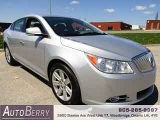 Used 2012 Buick LaCrosse Convenience Pkg - 3.6L for sale in Woodbridge, ON