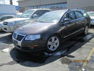 Used 2010 Volkswagen Passat BLACK LEATHER for sale in Scarborough, ON