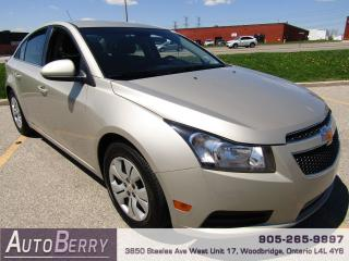 Used 2014 Chevrolet Cruze 1LT - 1.4L - Auto for sale in Woodbridge, ON