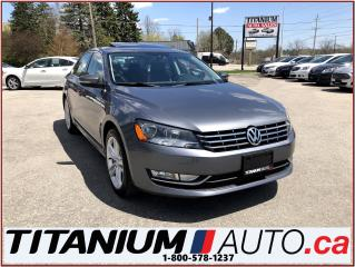 Used 2015 Volkswagen Passat Highline+GPS+Camera+Sunroof+Heated Leather Seats++ for sale in London, ON