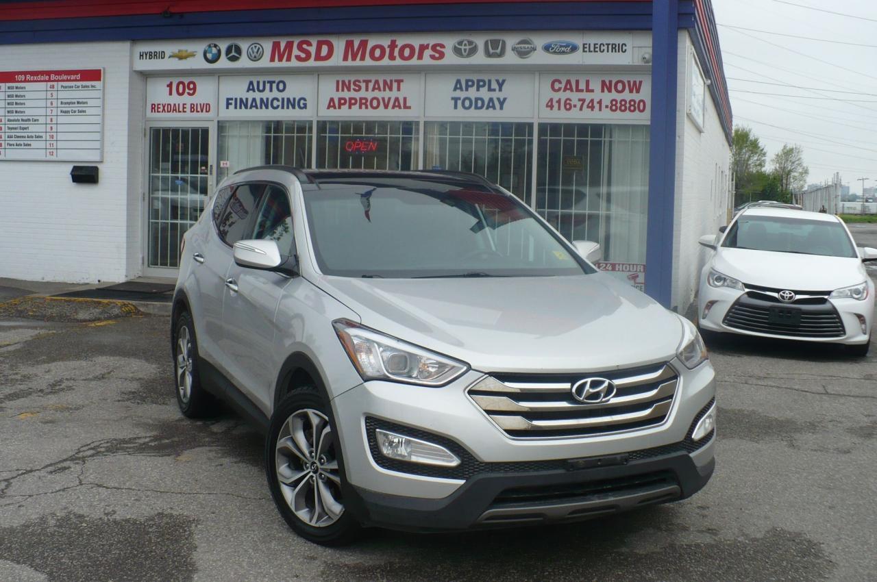 2014 Hyundai Santa Fe Premium 2.0T NAVI,LEATHER.ACCIDENT FREE