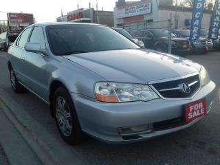Used 2003 Acura TL 3.2 TLS $2988 CERTIFIED for sale in Scarborough, ON