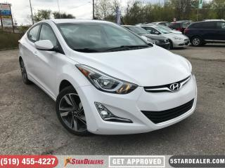 Used 2016 Hyundai Elantra GLS | ROOF | CAM | HEATED SEATS for sale in London, ON