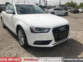 Used 2014 Audi A4 2.0 Komfort | LEATHER | ROOF | ONE OWNER for sale in London, ON