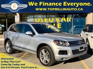 Used 2012 Volkswagen Touareg 3.6L Highline, Navigation, Panoramic Roof for sale in Concord, ON