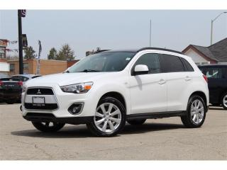 Used 2014 Mitsubishi RVR GT*MOONROOF*LEATHER*REVERSE CAM*BLUETOOTH* for sale in Mississauga, ON
