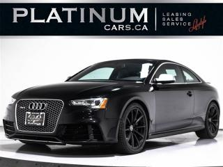 Used 2013 Audi RS 5 4.2 QUATTRO, R-TRONIC, NAVI, SUNROOF, Carbon Fiber for sale in Toronto, ON