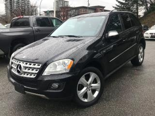 Used 2009 Mercedes-Benz ML 320 BlueTEC for sale in Port Moody, BC
