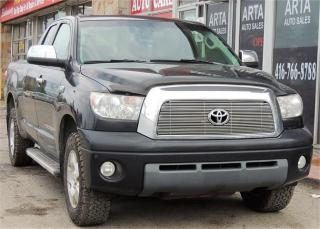 Used 2008 Toyota Tundra Limited  for sale in Etobicoke, ON
