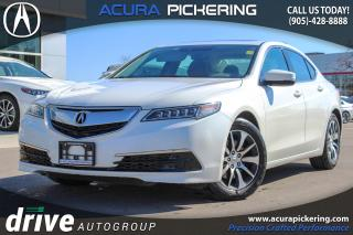 Used 2016 Acura TLX Tech One Owner|Blind-Spot Monitoring System|Navigation for sale in Pickering, ON