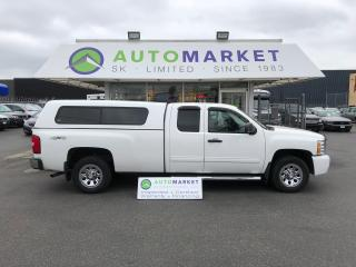 Used 2011 Chevrolet Silverado 1500 LS Ext. Cab 4WD LONG BOX! FINANCE IT! for sale in Langley, BC