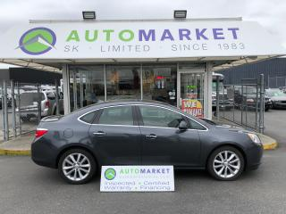 Used 2012 Buick Verano LEATHER NAVI! BLUETOOTH! FINANCE IT! for sale in Langley, BC