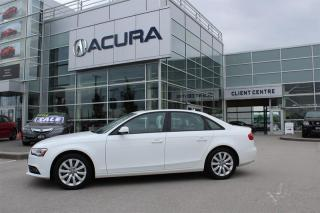 Used 2013 Audi A4 2.0T Prem Tiptronic qtro Sdn for sale in Langley, BC