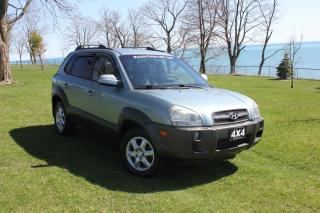 Used 2005 Hyundai Tucson GL-AWD|LEATHER|SUNROOF|HEATED SEATS|POWER WINDOWS for sale in Oshawa, ON