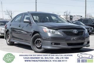 Used 2007 Toyota Camry SE 2.4L AUTO LEATHER SUNROOF SPORT PKG 8 TIRES for sale in Caledon, ON