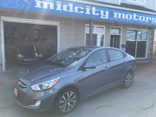 Used 2017 Hyundai Accent SE, Sunroof, bluetooth, alloy wheels, heated seats for sale in Niagara Falls, ON