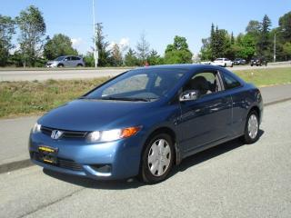Used 2006 Honda Civic DX-G for sale in Surrey, BC
