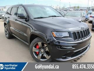 Used 2015 Jeep Grand Cherokee SRT DVDS/REDINTERIOR/NAV/SUNROOF/BREMBO for sale in Edmonton, AB