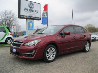 Used 2015 Subaru Impreza Hatchback for sale in Cambridge, ON