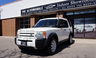 Used 2006 Land Rover LR3 SE AWD 7 PASSENGERS DVD PANO ROOF NO ACCIDENT for sale in Mississauga, ON
