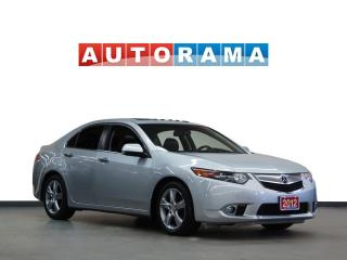 Used 2012 Acura TSX TECH PKG NAVIGATION LEATHER SUNROOF BACKUP CAMERA for sale in North York, ON
