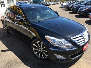 Used 2012 Hyundai Genesis Technology Pkg/NAVI/BACKUP CAMERA/LEATHER/S.ROOF!! for sale in Scarborough, ON