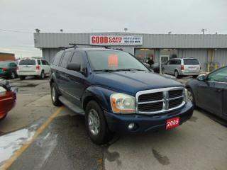 Used 2005 Dodge Durango Limited for sale in Burlington, ON