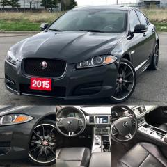 Used 2015 Jaguar XF Sport|ACCIDENT FREE|FINANCING AVAILABLE for sale in Mississauga, ON