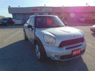 Used 2013 MINI Cooper Countryman S ALL4 for sale in Burlington, ON