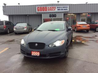 Used 2009 Jaguar XF Luxury for sale in Burlington, ON