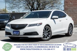 Used 2015 Acura TLX V6 Tech NAVI RearCamera LaneKeepAssist for sale in Caledon, ON